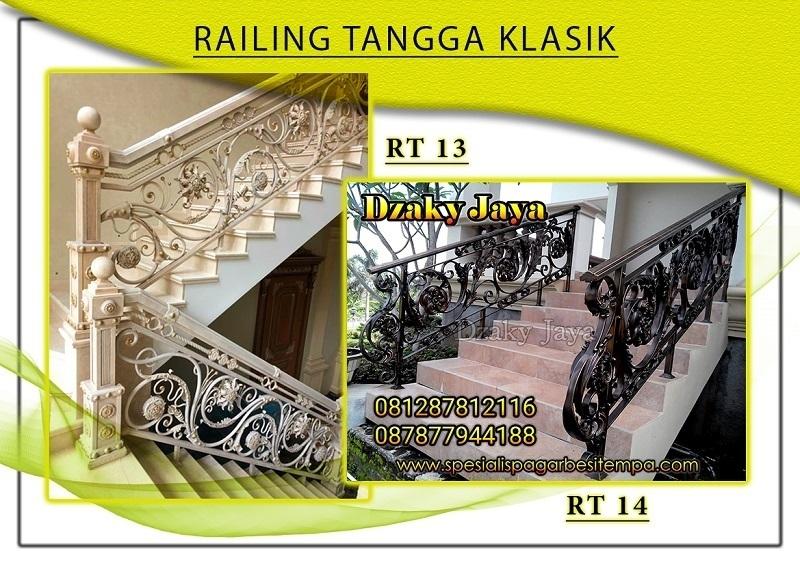 produk railing tangga besi tempa klasik 13