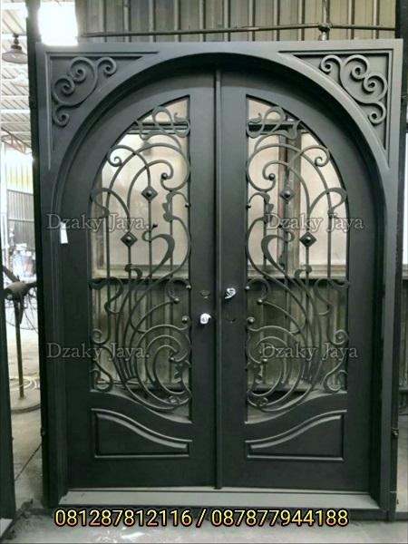 produk pintu besi klasik / pintu head tempa klasik