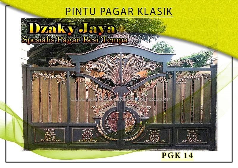 produk pintu gerbang besi klasik Jakarta Selatan