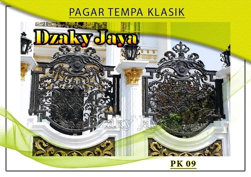produk pagar tempa mewah besi klasik mewah Jakarta